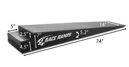 "Race Ramps 7"" Trailer Ramps RR-TR-7 - Modern Automotive Performance"