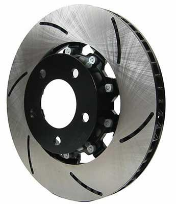 RacingBrake Two-Piece Front Slotted Rotors (Cadillac CTS-V 04-07) - Modern Automotive Performance  - 1