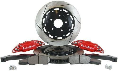 RacingBrake Big Brake Kit 4-Pot Slotted Rear (Mitsubishi Evo 8/9) 2034-311-411 - Modern Automotive Performance  - 1