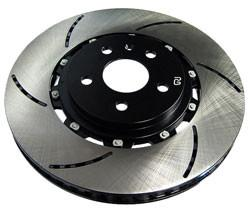 RacingBrake Front Slotted Two-Piece Rotor (Mitsubishi Evo X) - Modern Automotive Performance