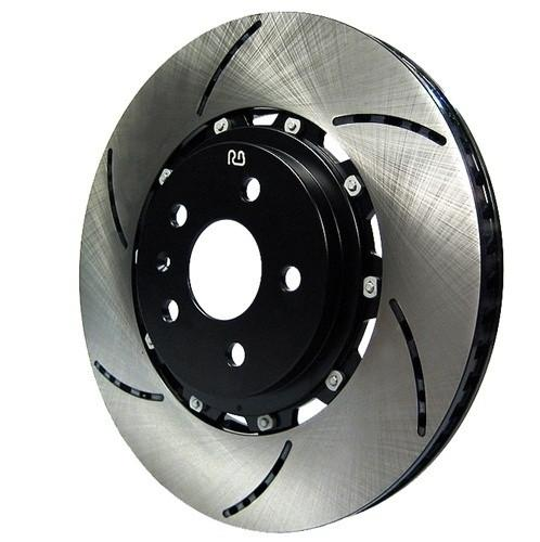RacingBrake Two-piece rotor for the EVO X - Rear Pair - (2136) - Modern Automotive Performance