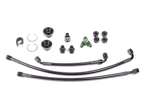 Radium Fuel Rail Plumbing Kit | Nissan VQ35HR & VQ37VHR (20-0469)