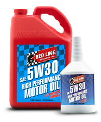 Red Line SAE 5W30 Synthetic Motor Oil (15304)
