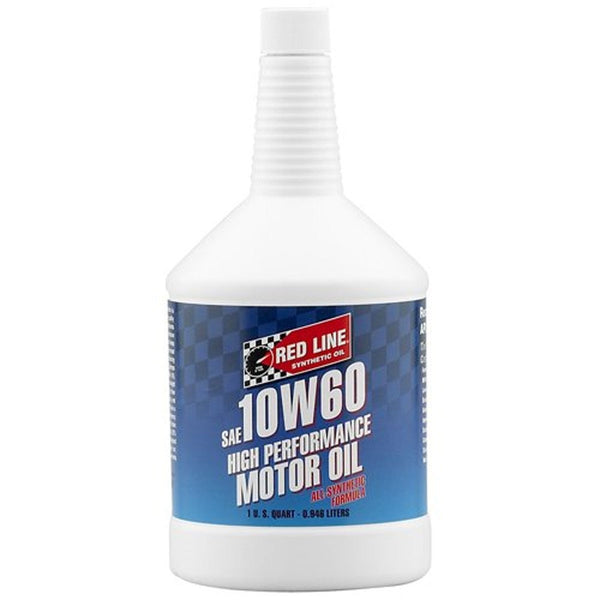 Red Line 10W60 High Performance Motor Oil (1 quart) | (11704) - Modern Automotive Performance