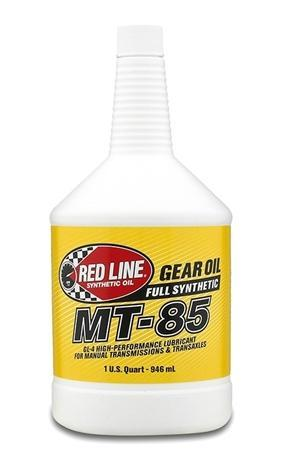 Red Line MT-85 Manual Transmission Lubricant 75W85 GL-4 - 1 Quart (50504)
