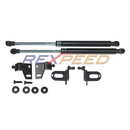 Rexpeed Black Series Hood Dampers | 2009-2013 Mazda 3 (MZ03B)