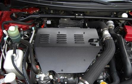 Rexpeed Carbon Fiber Engine Cover (Mitsubishi EVO X) R-EX-CFEC - Modern Automotive Performance