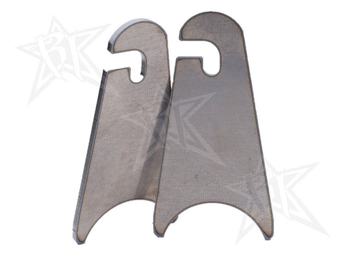 Weld-On Slotted Tab - Radius Base  by Rigid Industries - Modern Automotive Performance
