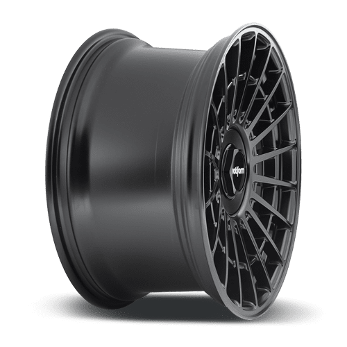 "Rotiform LAS-R 5x100/114.3 18"" Matte Black Wheels"