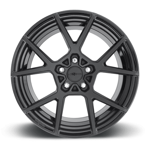 "Rotiform KPS 5x120 20"" Matte Black Wheels"