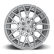 "Rotiform BLQ 5x114.3 18x8.5"" +38mm Offset Silver & Machined Wheels"