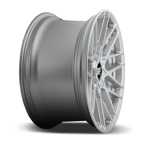 "Rotiform RSE 5x114.3/120 18x9.5"" +35mm Offset Gloss Silver Wheels"