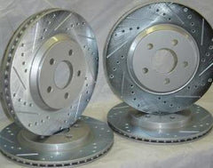 RotorPros Performance Plus Rear Brake Rotors | 2003-2006 Mitsubishi Evo 8/9