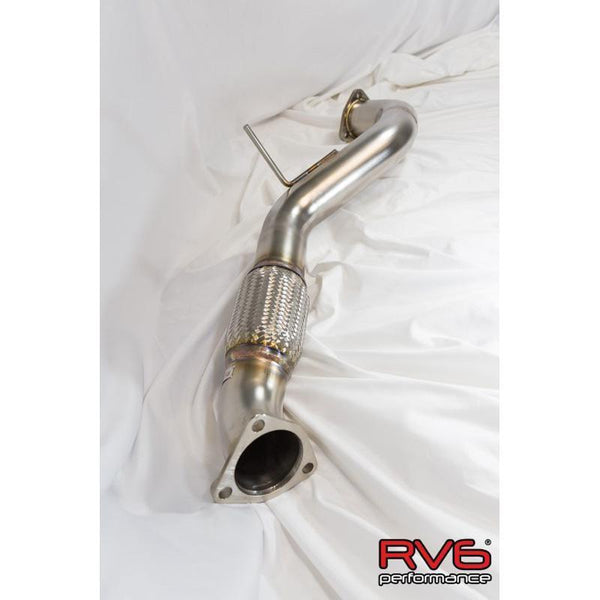RV6 Front Pipe | 2017-2019 Honda Civic Type-R (FP_TYPER-17)