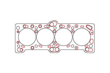 SCE ICS Titan Self-Sealing Copper Head Gasket 87.3mm Bore | 1G / 2G DSM (S92759)