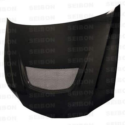 Seibon Carbon Fiber Hood Style OEM Mitsubishi Lancer EVO 8 2003-2006 - Modern Automotive Performance