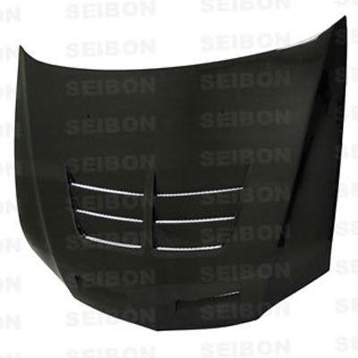 Seibon Carbon Fiber Hood Style TS-II Mitsubishi Lancer EVO 8 2003-2006 - Modern Automotive Performance