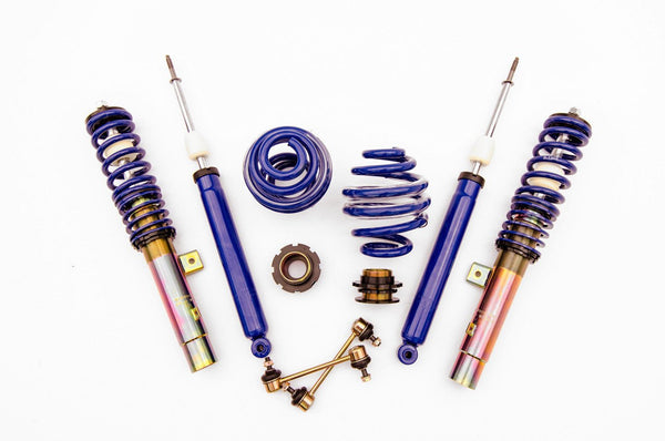 Solo Werks S1 Coilover Kit | 1999-2005 BMW E46 3-Series (S1BW003)