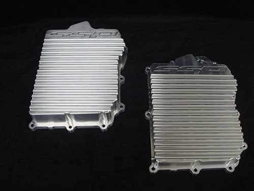 SSP SST Transmission Cooler Pan | 2008-2015 Mitsubishi Evo X MR - Modern Automotive Performance