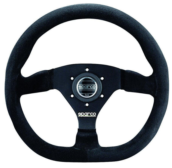 Sparco Black Steering Wheel L360 | (015TRG)