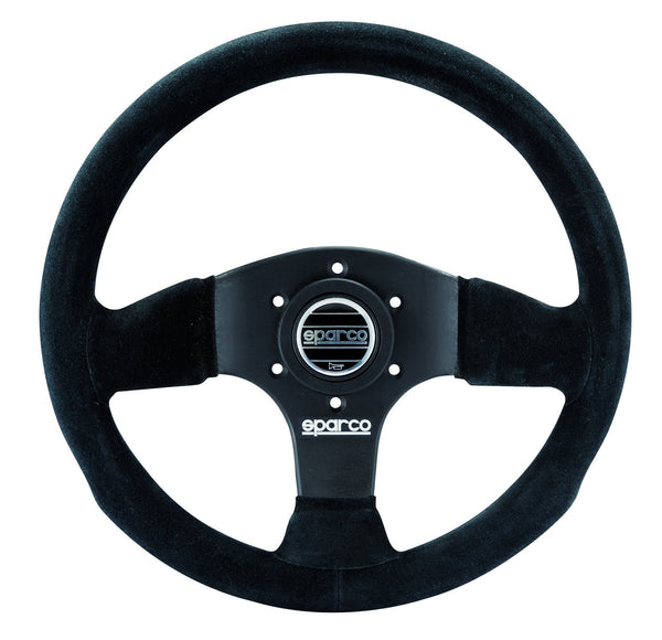 Sparco Black Suede Steering Wheel P300 (015P300SN)