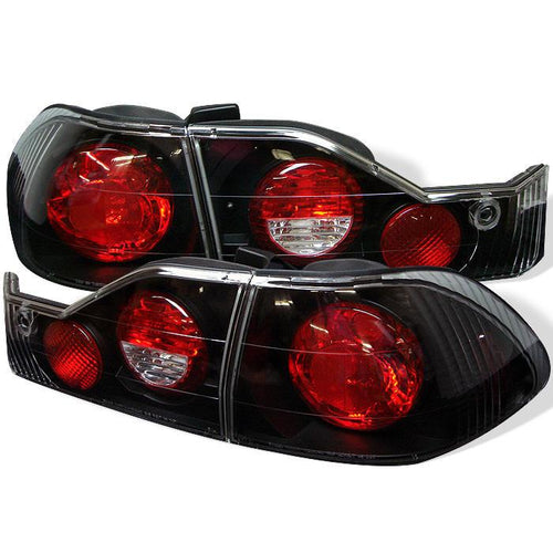 Spyder Auto Honda Accord 98-00 4Dr Euro Style Tail Lights - Black - Modern Automotive Performance