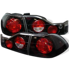 Spyder Auto Honda Accord 98-00 4Dr Euro Style Tail Lights - Black