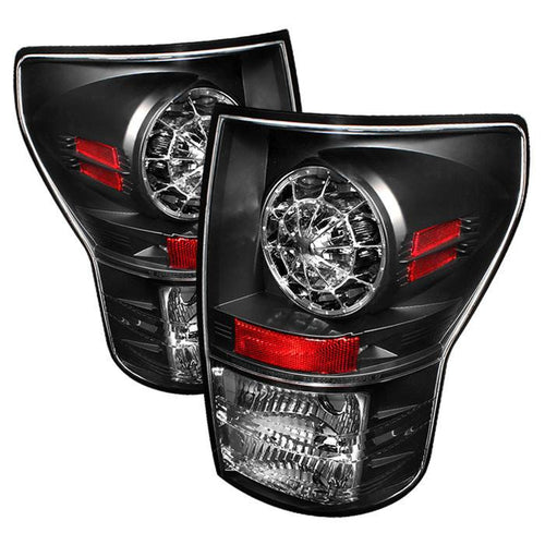 Spyder Auto Toyota Tundra 07-13 LED Tail lights - Black - Modern Automotive Performance