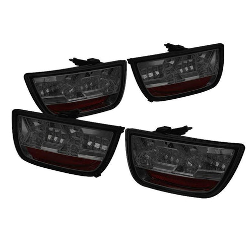 Spyder Auto  Chevy Camaro 10-13 LED Tail Lights - Smoke - Modern Automotive Performance