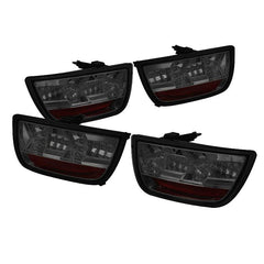 Spyder Auto  Chevy Camaro 10-13 LED Tail Lights - Smoke