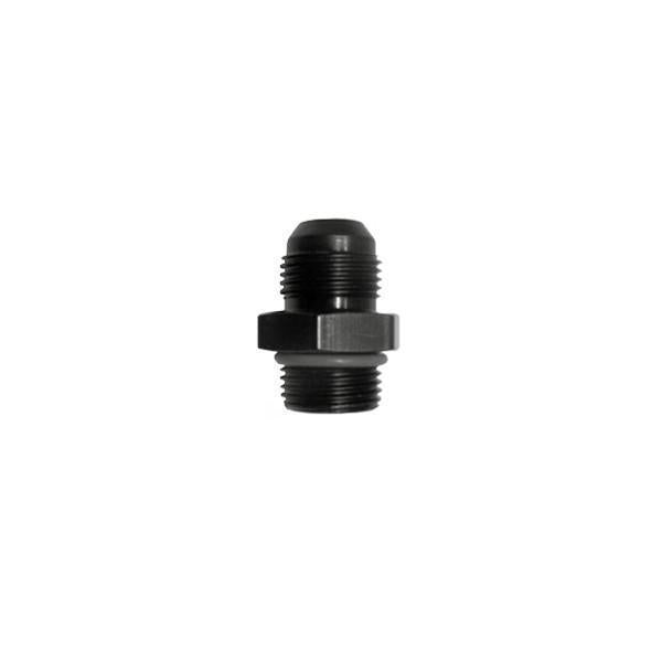 Squirrelly Performance Reducer Union Fitting | -8an to -16an ORB | Black