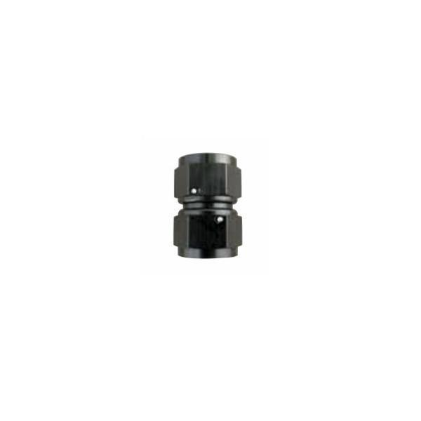 Squirrelly Performance Swivel Female-to-Female Coupler | -6an | Black