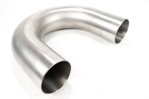"2.50"" 180 Degree 304 Stainless Mandrel Bend - Modern Automotive Performance"