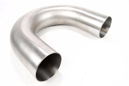 "Squirrelly Performance 3"" 180 Degree 304 Stainless Mandrel Bend"