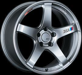 "SSR GTV01 5x114.3 18"" Glare Silver Wheels"