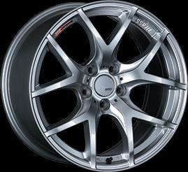 "SSR GTV03 5x100 18"" Glare Silver Wheels"
