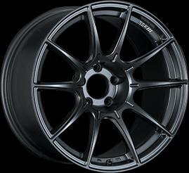 "SSR GTX01 5x100 17"" Flat Black Wheels"