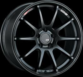 "SSR GTV02 5x100 15x6.0"" +45mm Offset Flat Black Wheels"