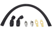 STM Turbo Oil Return Line -10AN | 2003-2007 Mitsubishi Evo 8/9 (EVO89-TORLB-STK)