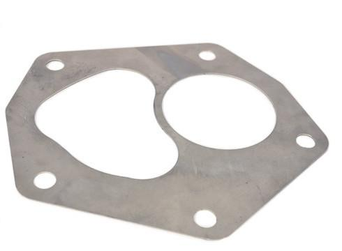 STM Stainless Steel Divided Turbo Outlet Gasket | 2008-2015 Mitsubishi Evo X (STM-EVOX-SSG-DTO)