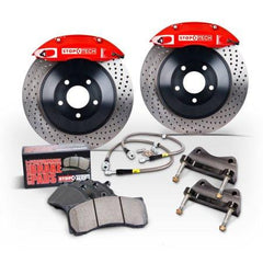 StopTech Front Touring Big Brake Kit with 1pc Drilled Rotors | Multiple Volkswagen / Audi Fitments (82.895.5N00)