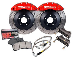 StopTech 380mm 6-Piston Big Brake Kit w/ Drilled Rotors | 2015+ VW Golf R Mk7 (83.896.6800.52)