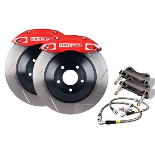 StopTech 355mm 4-Piston Big Brake Kit w/ Slotted Rotors | 2015+ VW Golf R Mk7 (83.896.4700.51)