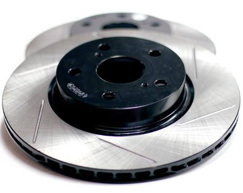 Stoptech Slotted Rotors (Mitsubishi Evo X 08-14) 126.46076S - Modern Automotive Performance