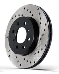 StopTech Drilled Cryo Rotor - Front Left | Multiple Fitments (128.42100CL)