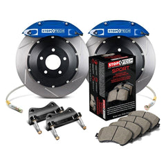 StopTech Front Big Brake Kit with 355x32mm 2pc Slotted Rotors | 2015-2017 Volkswagen GTI (83.895.4700.71)