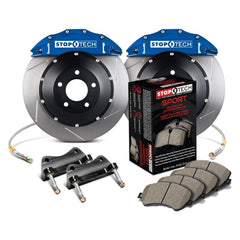 StopTech Front Big Brake Kit with 355x32mm 2pc Slotted Rotors | 2015-2017 Volkswagen GTI (83.895.6700.71)