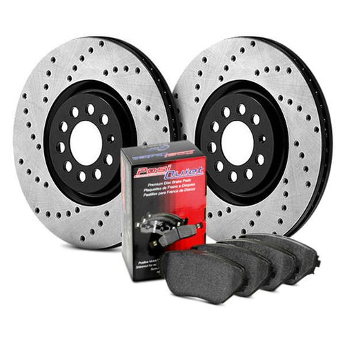 Stoptech Street Kit-Drilled Rear | Multiple Subaru Fitments (939.47501)
