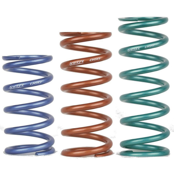 "Swift Metric Coilover Spring Pair - 60mm ID - 4"" Length - 50 kgf/mm (Z60-102-500)"