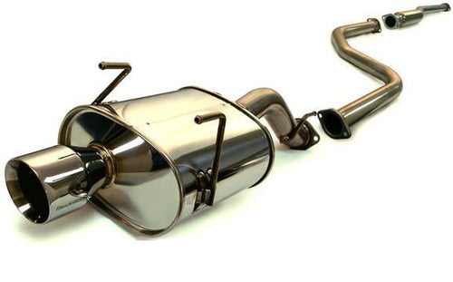 1996-2000 Honda Civic Hatchback Medallion Touring Catback Exhaust by Tanabe (T70018) - Modern Automotive Performance